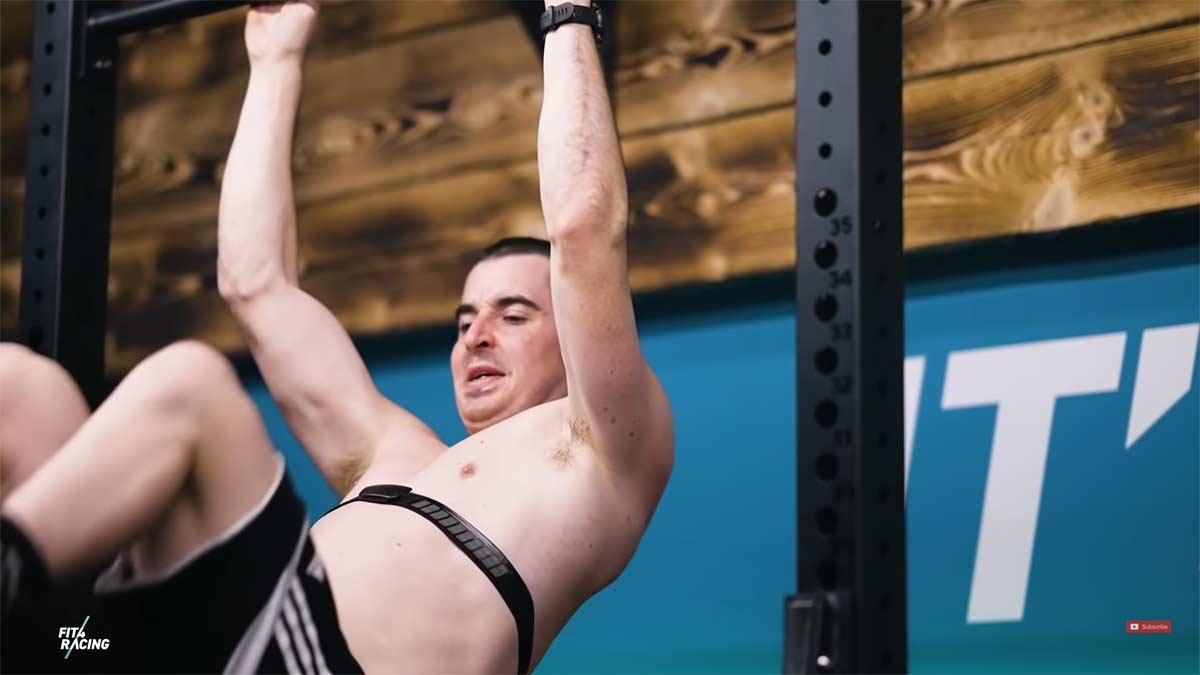 Vídeo: Así es el entrenamiento invernal del ciclista Danny Hart en gimnasio