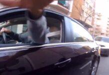 Video-Deja-de-grabarme-que-te-arranco-la-camara-Otro-psicopata-al-volante-mas
