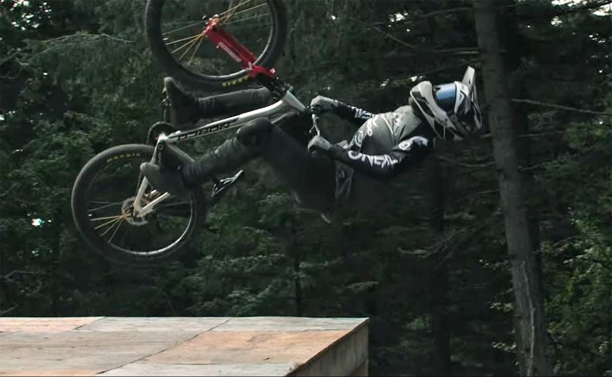 Vídeo: Impresionante Matt MacDuff & Tittle MTB