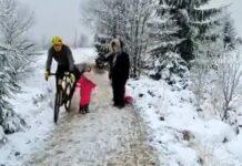 Vídeo: Un año de prisión por golpear con la rodilla a una niña cuando iba en bicicleta