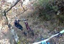 Video-Varios-ciclistas-se-topan-con-alambres-de-espino-a-la-altura-del-cuello-en-un-sendero-de-El-Bierzo
