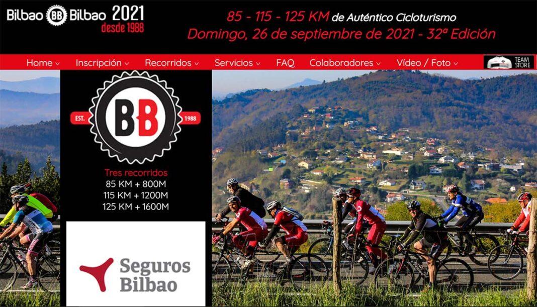 Aplazada la marcha cicloturista Bilbao-Bilbao 2021