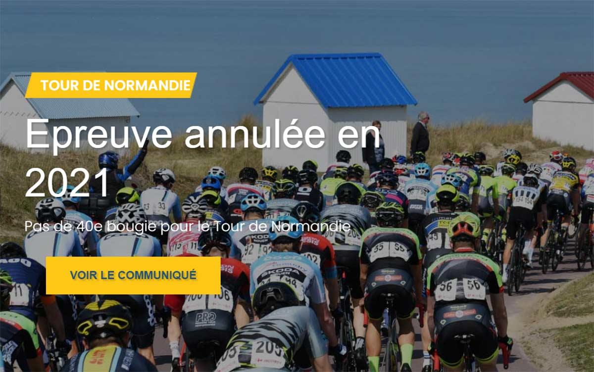 Organizadores cancelan pruebas ciclistas de Mayo y Junio