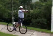 Vídeo: Así entrenan algunos policías en bicicleta