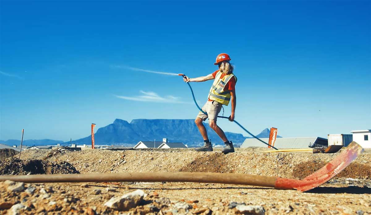 Vídeo: Así se construye el primer pump track de Velosolution en Cape Town, Sudáfrica