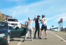 Video-Brutal-agresion-de-un-conductor-a-un-ciclista-en-Gran-Canaria cruz grande