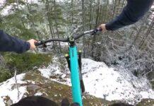 """Vídeo: Remy Metailler en un sendero """"Black Diamond"""" con nieve"""