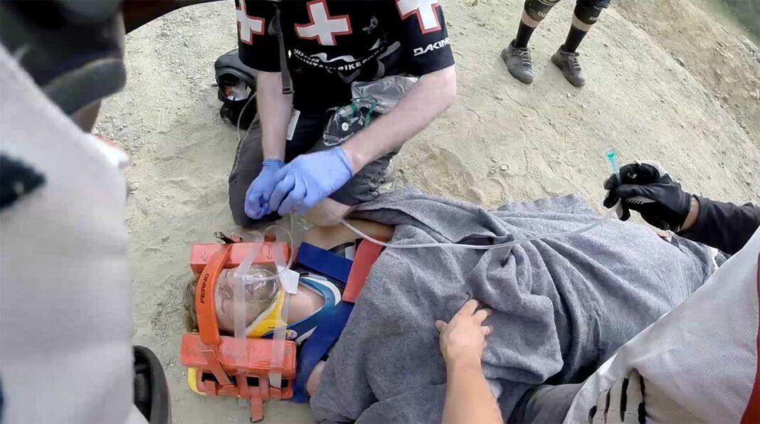 Vídeo: Una caída en el bike park le dejó tetrapléjico, pero tres años después ha vuelto...