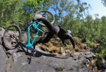 Todas las locuras sobre su bicicleta Santa Cruz de Josh Lewis del 50to01