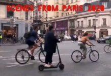 2012 VS 2020. ¿Ves alguna diferencia entre estos dos vídeos de un céntrica calle de la ciudad de París?
