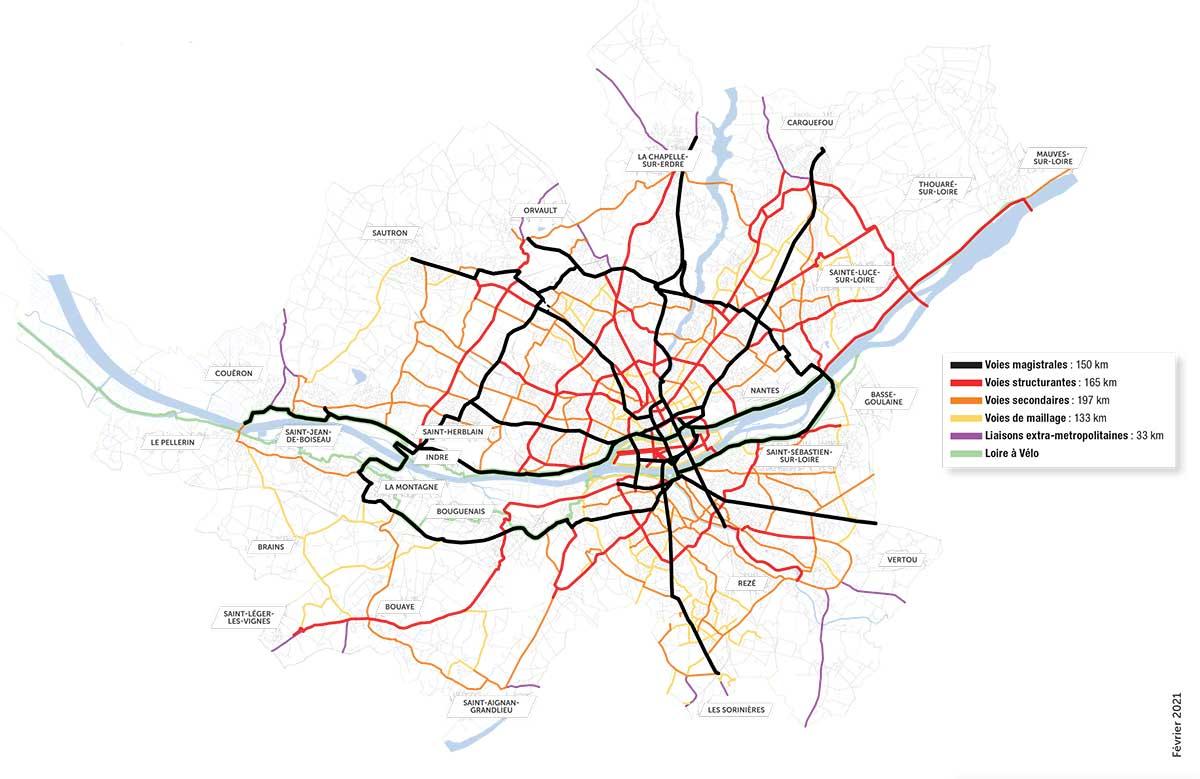 75 millones de euros para unir 17 municipios con carriles bici