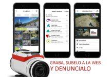 Campaña para colocar cámaras de vídeo en ciclistas y una web donde subir las denuncias