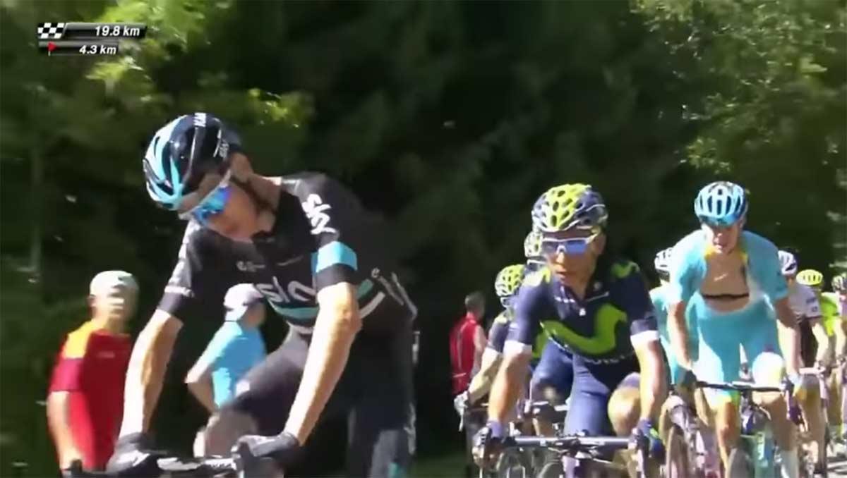 Chris Froome se mofa de la última prohibición de la Unión Ciclista Internacional