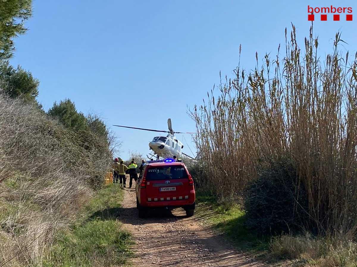 Encuentran-muerto-a-un-ciclista-de-71-anos-de-edad-en-Barcelona