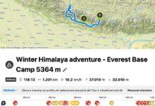 Llegar en bici hasta el Everest: 1.300 km y 40.000 metros positivos a -35 ºC