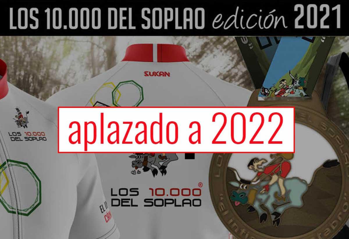 No habrá 10.000 del Soplao en 2021. Recupera tu inscripción o guárdala para 2022