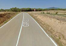 Un ciclista encuentra una persona muerta en una cuneta