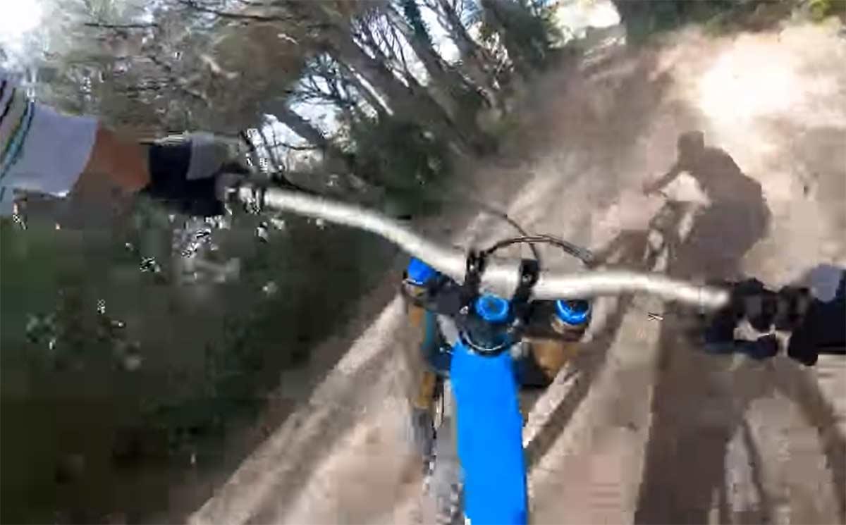 Vídeo: Tomi Misser bajando por primera vez en 10 años con una bicicleta de descenso