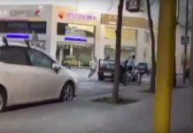 Vídeo: Una conductora y su acompañante se lían a golpes con un ciclista en Sabadell