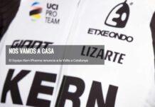 Dos positivos en la Volta a Cataluña dejan fuera al equipo ciclista Kern Pharma