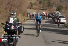 El optimismo de Alejandro Valverde tras su tercer puesto en la Volta a Cataluña