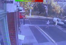 """""""No hay pruebas suficientes"""", tras presentar un vídeo del atropello sufrido por una furgoneta"""