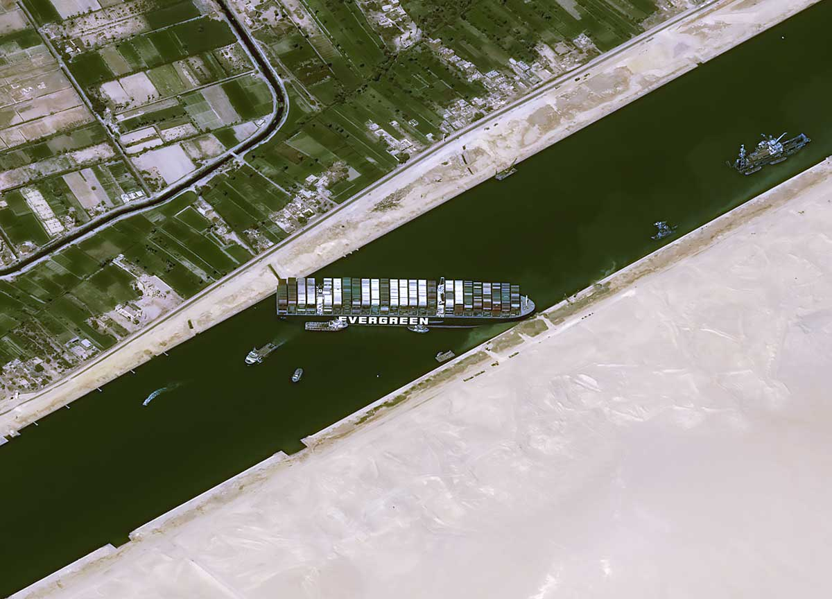 ¿Subirán más los precios de las bicis por el buque encallado en Suez?