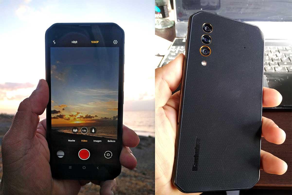 Teléfono móvil ultra resistente 5G Blackview BL6000PRO
