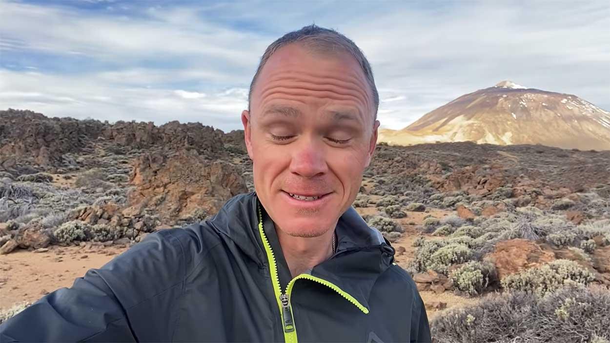 Vídeo: Las duchas de agua fría de Chris Froome en el Teide