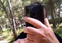 Video-senor-Pillado-colocando-piedras-en-un-carril-bici-cartagen-murcia-bienduromtb-trampas-ciclistas