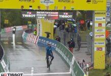Marc Soler, del equipo ciclista Movistar Team, se lleva el gato al agua en Romandia