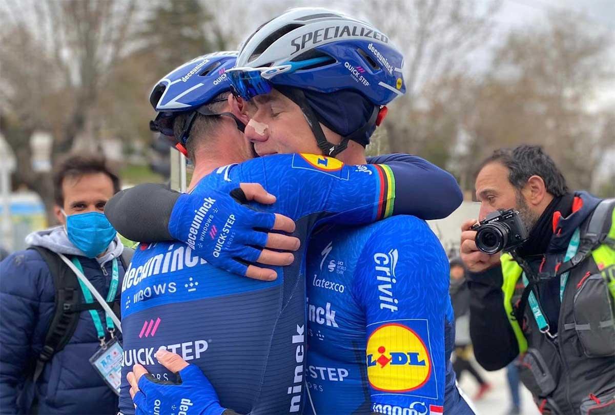 El emotivo regreso a competición de Fabio Jakobsen tras su grave accidente