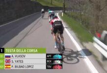 """""""Este tipo de descensos no se pueden hacer todos lo días"""" Pello Bilbao tras vencer en el Tour de los Alpes"""