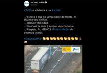 Los tweets de la DGT muestran los conductores que no respetan ni conocen las normas de circulación