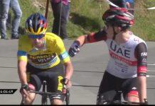 Pogacar, más listo que Roglic esta vez, se lleva la tercera etapa de La Vuelta al País Vasco.