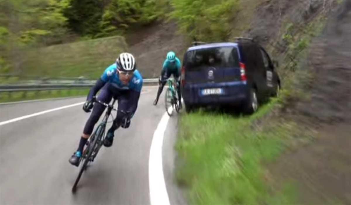 Video-La-librada-de-Gorka-Izagirre-y-los-coches-mal-aparcados