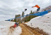 Video-Snowboar-Vs-Mountain-Bike.-La-primera-y-la-ultima-bajada-de-la-temporada
