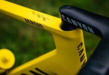Así es la nueva Canyon Aeroad CFR amarilla de Mathieu van der Poel