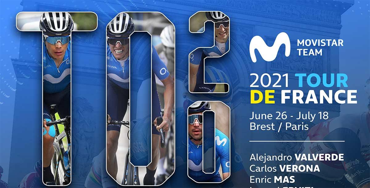 El-Dream-Team-Movistar-para-el-Tour-de-Francia-2021