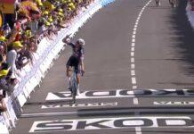 La primera victoria y el primer maillot amarillo de Mathieu van der Poel en el Tour de Francia