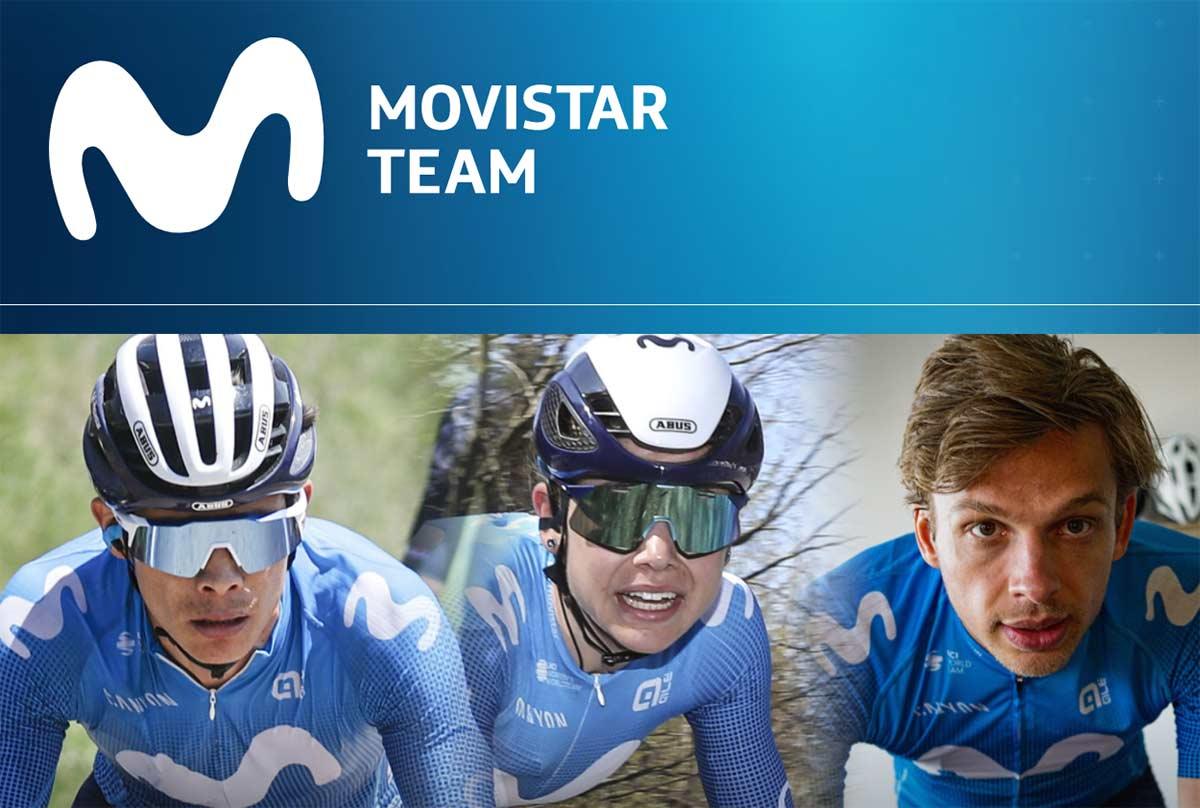Movistar garantiza el patrocinio del equipo ciclista hasta 2023