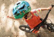 Un niño de 9 años herido en el cuello con una trampa para ciclistas