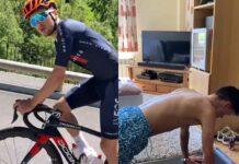 Vídeo: Tom Pidcock montando en bicicleta 6 días después de romperse la clavícula