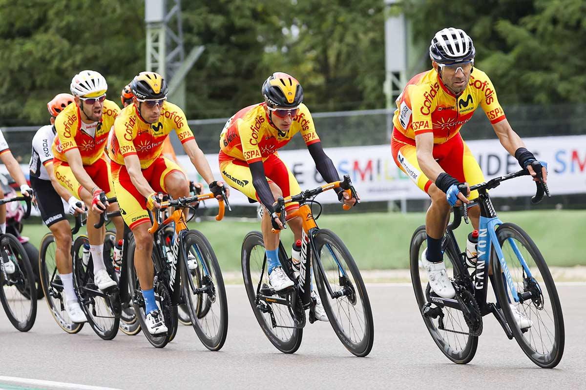 Alejandro Valverde será el líder de España en los Juegos Olímpicos de Tokio 2021