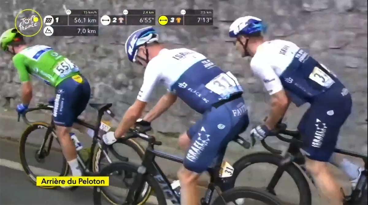 Chris Froome, 9º en el Tour de Francia por la cola, aún tiene esperanzas