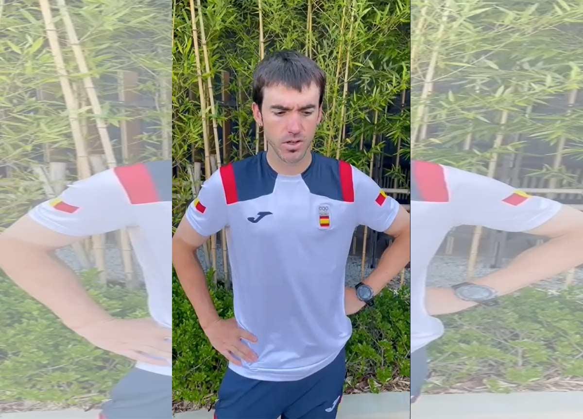 Ion Izaguirre el único ciclista en abandonar la prueba olímpica de contrarreloj en bicicleta de carretera