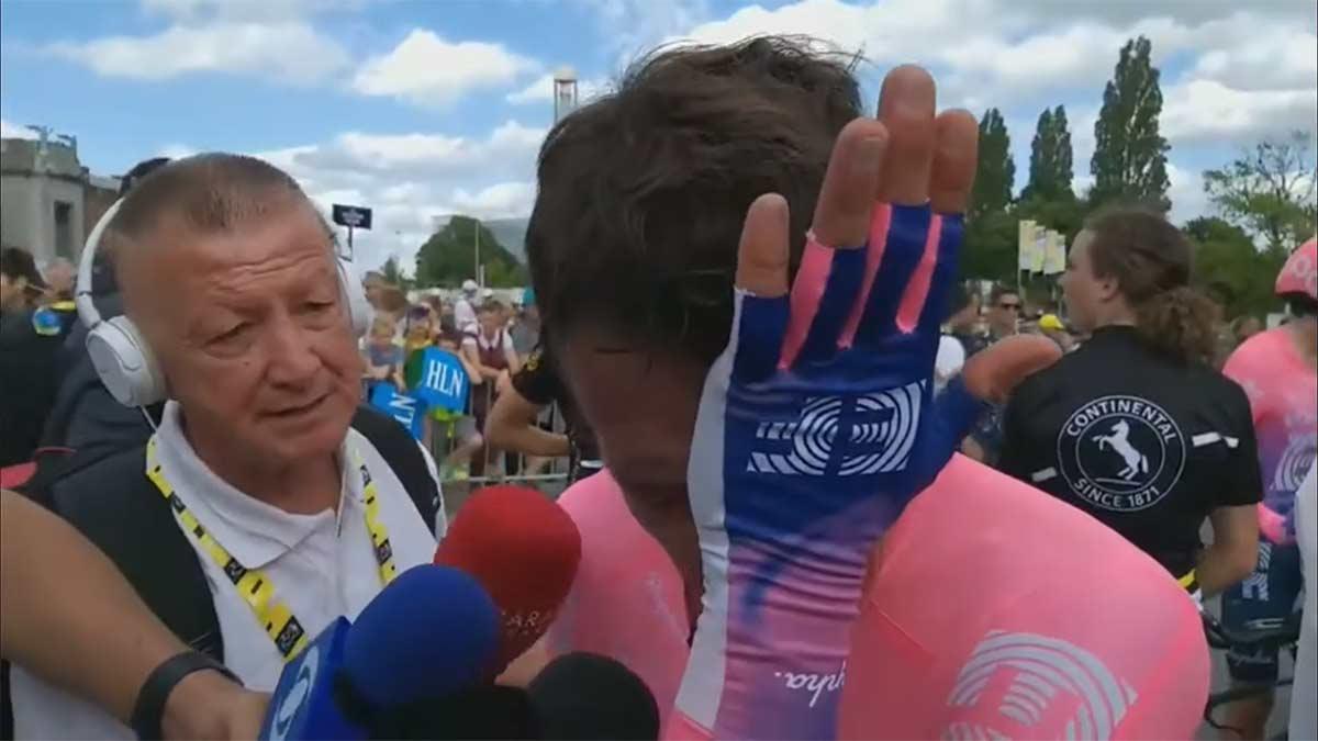 Pello Bilbao y Rigoberto Urán a punto de ser expulsados del Tour de Francia 2021
