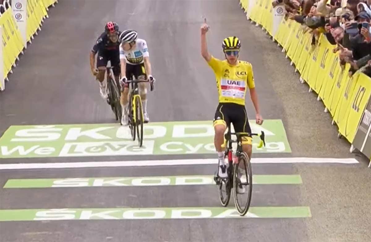 Tadej Pogacar, el Ciclista