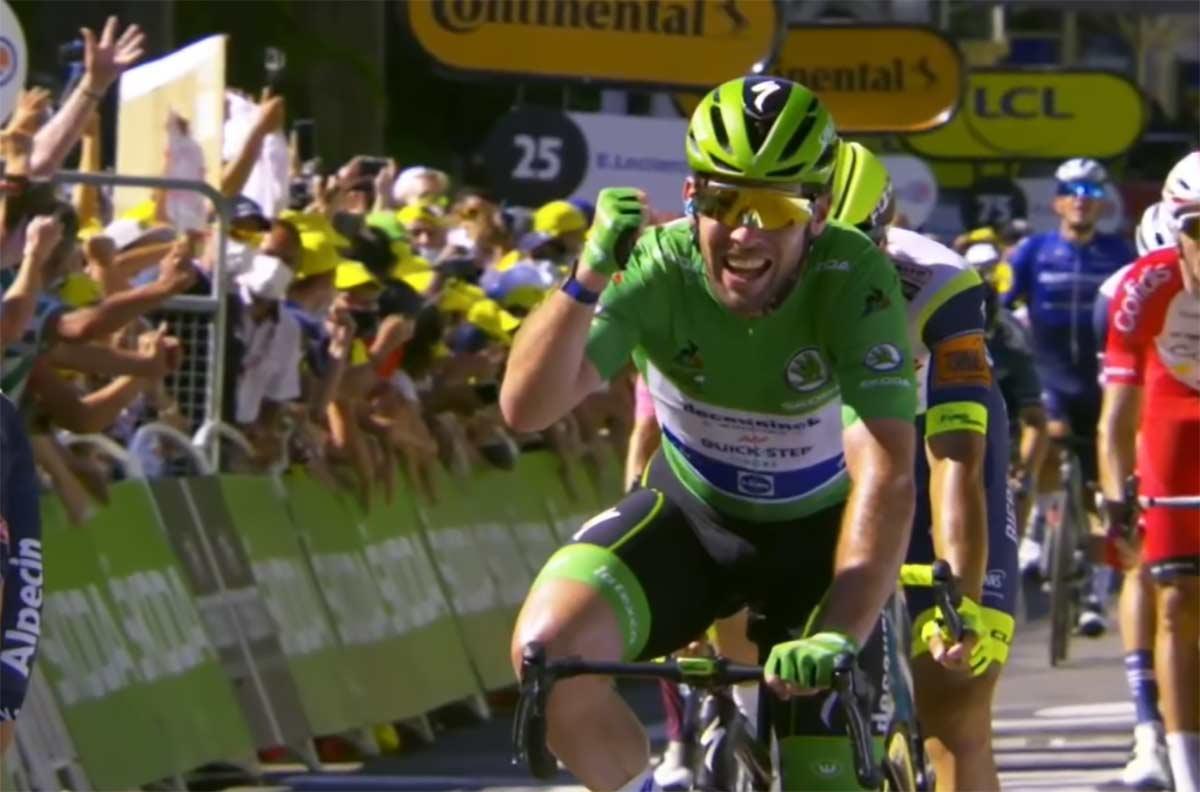 Vídeo: Etapa histórica la vivida hoy en el Tour de Francia 2021
