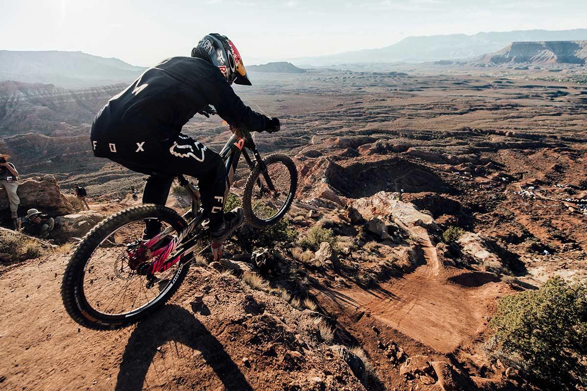 Andreu Lacondeguy estará de nuevo en la competición más extrema del mundo en bicicleta de montaña, el Red Bull Rampage 2021